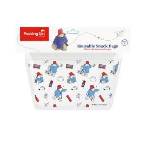Paddington Bear Snack Zip Bags (Set of 2)