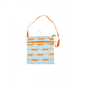 Scion Mr Fox Wipe Clean Peg Bag (Blue)