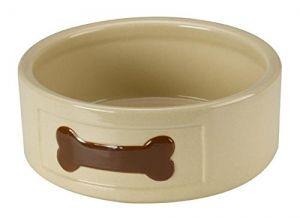 Petface Ceramic Dog Bowl - Bone Design