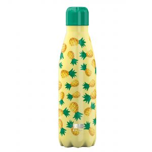 iDrink Insulated Stainless Steel Bottle – Pineapples 500ml