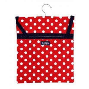 Red Polka Dot Peg Bag