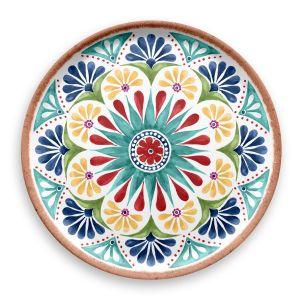 Rio Medallion Melamine Serving Platter