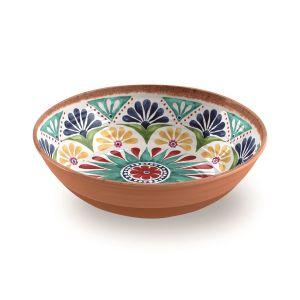 Rio Medallion Melamine Large Salad Bowl