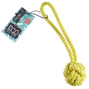Green & Wilds Eco Dog Toy - Rope Ball