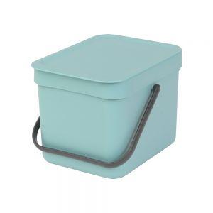 Brabantia Sort & Go Kitchen Caddy - Mint - 6L Size