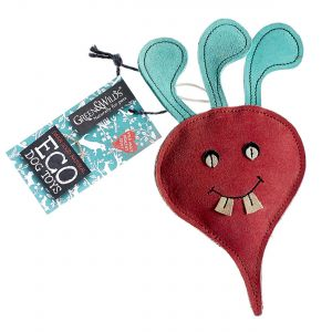 Green & Wilds Eco Dog Toy - Terry the Turnip