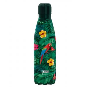 iDrink Insulated Stainless Steel Bottle – Tropical Birds 500ml