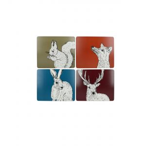 Kitchencraft Creative Tops Placemats - Into The Wild (4PC)