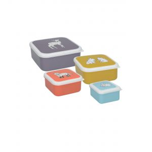 Kitchencraft Creative Tops Snack Tubs - Into The Wild (4PC)